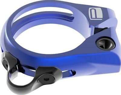 Promax DP-1 Dropper Seat Post Clamp 34.9mm Blue