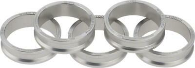 Wolf Tooth Components Headset Spacer 5 Pack, 10mm, Silver