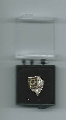 Rare Publix Supermarkets Service Awards Tie Tac With 2 Diamonds In Presentation