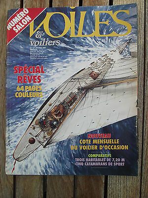 VOILES et VOILIERS n° 167/janvier 1985 EOLIA / FEELING 720 / FIRST 24