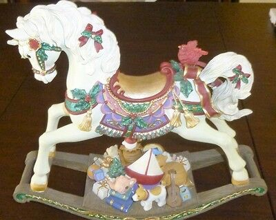 San Francisco Music Box Christmas Rocking Horse-Have Yourself  Merry Little Xmas