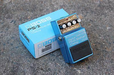 1993 Boss PS-2 Digital Pitch Shifter Delay Vintage Effects Pedal w/Box