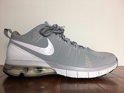 best website 60391 e6fc5 Nike Air Max Tr180 Tb Running Shoes Wolf Grey White New 723991-011 (Size