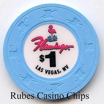 1.00 Chip from the Flamingo Casino in Las Vegas Nevada  No Inserts