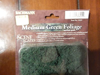 Bachmann Scene Scapes: Medium Green Foliage - NEW IN BOX
