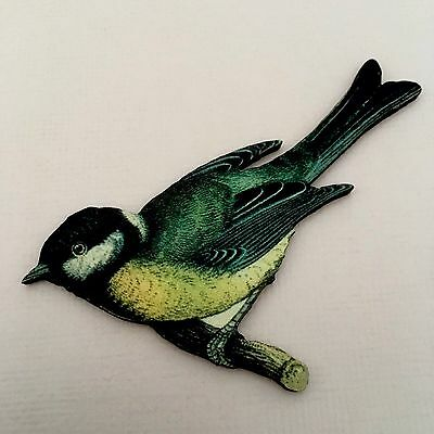 BROOCH Exotic bird Laser cut wooden jewelry Nature jewellery Wood lapel badge