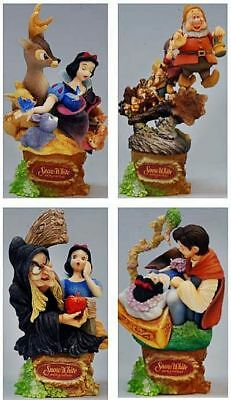 *NEW* Disney Snow White and the Seven Dwarfs Formation Arts Set of 4 Mini Figure
