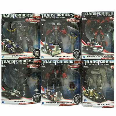 Transformers Dark of the Moon Optimus Prime Ironhide Megatron Action Figure 7 in