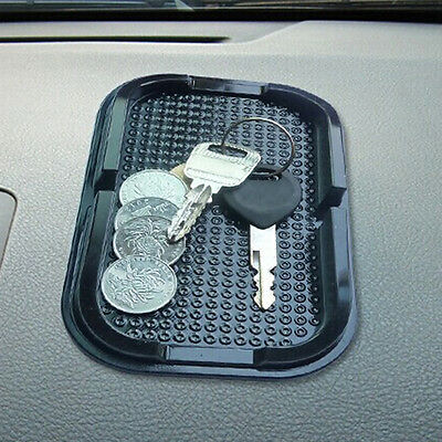 1PCS Black Car Dashboard Anti Slip Grip Mobile Phone Sticky Holder Mat