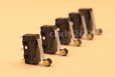 5Pcs OMRON SS-5GL2 Limit Switch OMRON 3 Pin Micro Switch SPDT 5A 125VAC C-NO-NC