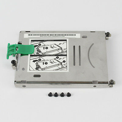 New Hard Drive Disk HDD Caddy Bracket For HP ZBOOK 15 ZBOOK 17 with Screws