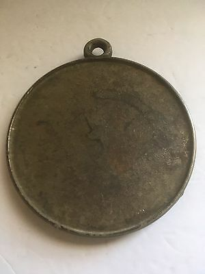 """Antique/vintage Pinter Gas Iron Co. Round 5"""" Supported Trivet Mountable Hoop"""