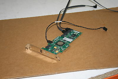 HP-LSI SAS3041E-HP RAID Controller PCIe Card 431103-001 Full Profile