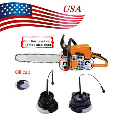 Fuel Gas Oil Filler Cap For STIHL Chainsaw MS171 MS181 MS200 MS210 MS211