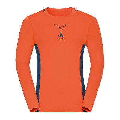 Odlo Ceramicool Crew Neck Shirt LA Orange F30353