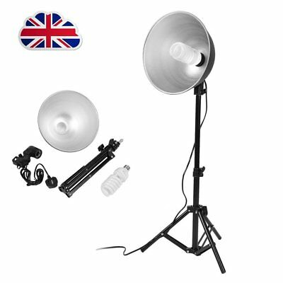 Photo Studio Continuous Sparkler Dome Light Stand Kit Photography Video FOR Tent