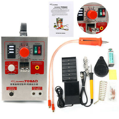 709AD 15KVA High Power Battery Spot Welder & Soldering Station Professional