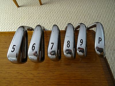 Golf Clubs - Titleist AP2 714 Forged Irons with Regular shafts 5 - 9 + PW