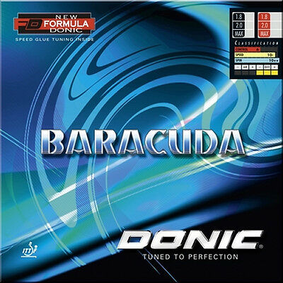 Donic Baracuda Table Tennis Rubber (Sale)