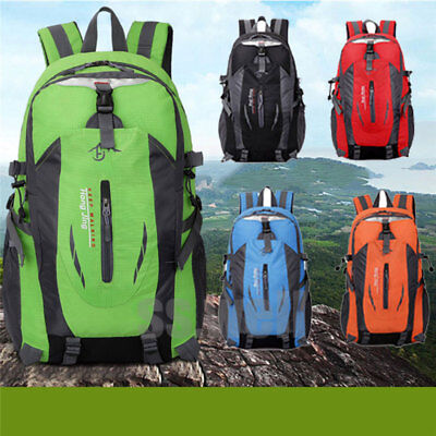 30L Waterproof Outdoor Camping Hiking Backpack Day Packs Bags Large Capacity