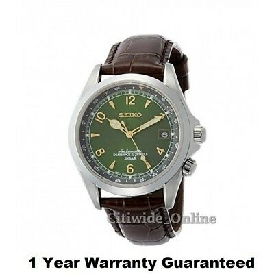 Seiko SARB017 Mechanical Automatic Men Leather Watch w/1 Yr Warranty EU