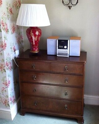 Vintage Antique Chest of Drawers Cupboard