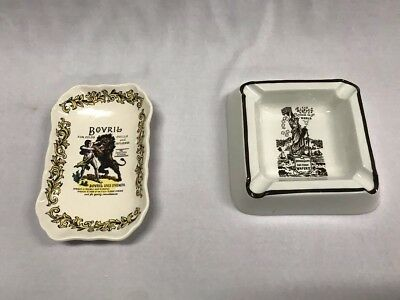Two Vintage Advertising Dishes Including Lord Nelson Pottery Dish And Ashtray