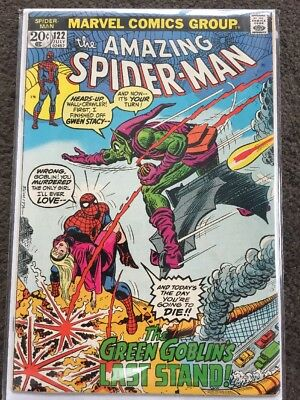 The Amazing Spider-Man #122 FN+ (6.5) - Death Of The Green Goblin