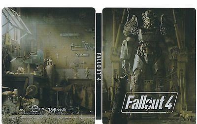 Fallout 4 Steelbook & Postcards (NO GAME) BRAND NEW