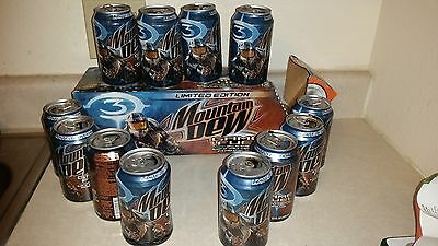 Mt Dew Can opened empty 12 oz  Game fuel Halo 3 Video Game