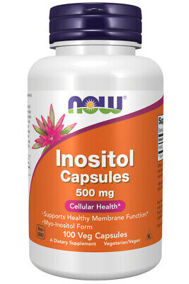 Now Foods, Inositol, 500mg, 100 Kapseln