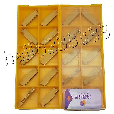 10× MGMN400-M NC Carbide Inserts CNC for steel, cast iron, stainless steel CNC