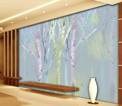 Gorgeous Trees 3D Full Wall Mural Photo Wallpaper Printing Home Kids Decoration