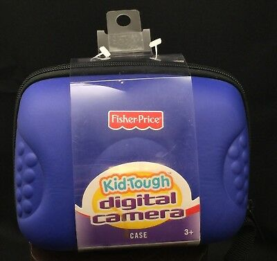 Fisher Price Kid Tough Digital Camera Case Blue NEW Fisher-Price Mattel