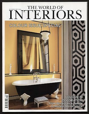 World of Interiors Dec 2007 WOLVERTON HALL WORCS OUTRELAISE NORMANDY CALKE ABBEY