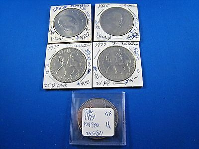 GREAT BRITAIN - LOT OF 5 COINS     (skgbl1)