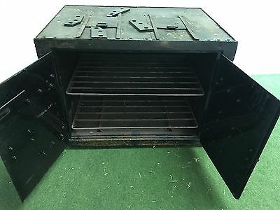 Military gas stove oven - old
