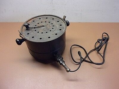 Antique KM Company WORKING Electric Pop Corn Popper Good Condition Heats FAST!