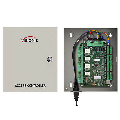 Visionis VS-AXESS-4ETL Four Door Network Access Control Panel Controller TCP/IP