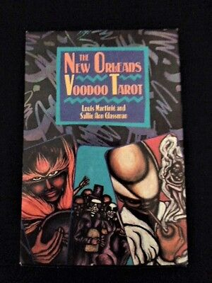 New Orleans Voodoo Tarot Cards & Guide Book - Complete - Beautiful Illustrations