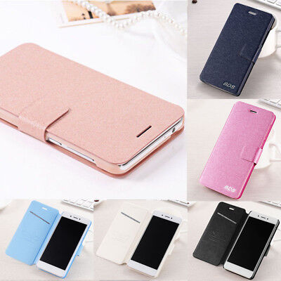 For Huawei P8 P9 P10 Lite Luxury Flip Leather Slim Wallet Magnetic Case Cover