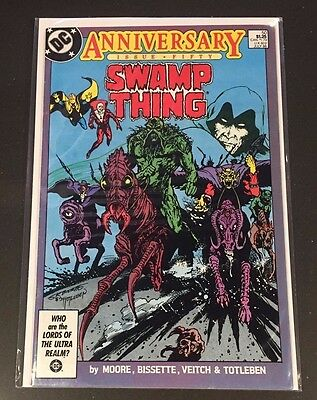 Swamp Thing #50 - 1986 Alan Moore Double Sized DC Comic Book NM FREE P+P