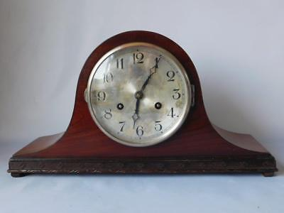 Franz Hermle Mantle Clock Napoleon Hat ~ Good Working Order