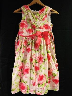 Floral Girl Dress Size 12 Girls Party Dresses Formal Roses Pink Wedding Flower