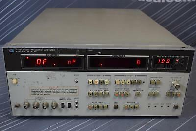 Keysight (Agilent) 4275A LCR Meter 10KHz to 10MHz Options 001 and 002