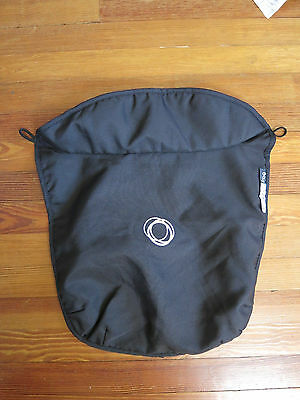 Bugaboo Frog Stroller Bassinet Apron Black Canvas Fabric Carrycot Cover Baby