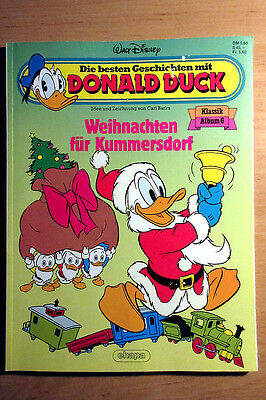 walt disney donald duck nr 6 weihnachten in kummersdorf. Black Bedroom Furniture Sets. Home Design Ideas