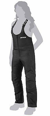 Arctic Cat Snowmobile Women's Advantage Bibs Black Large 5250-764
