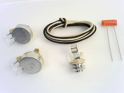 True Custom Shop® Wiring Kit For Fender Precision Bass Guitars with USA CTS Pots