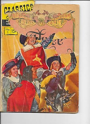Classics Illustrated #1  The Three Musketeers